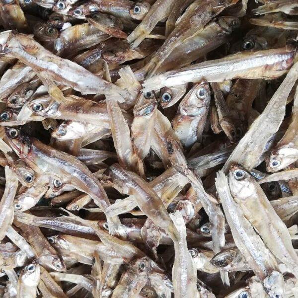Nethallu Dry Fish/Karuvadu Non-Salted - 1kg